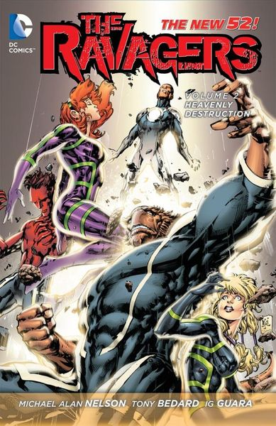 The Ravagers Vol. 2: Heavenly Destruction (The New 52) inhuman vol 2 axis