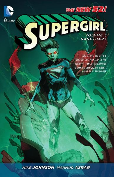 Supergirl Vol. 3: Sanctuary (The New 52) last templar vol 3 the the sunken church