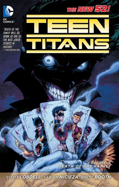 Teen Titans Vol. 3: Death of the Family (The New 52) batman detective comics vol 3 emperor penguin the new 52