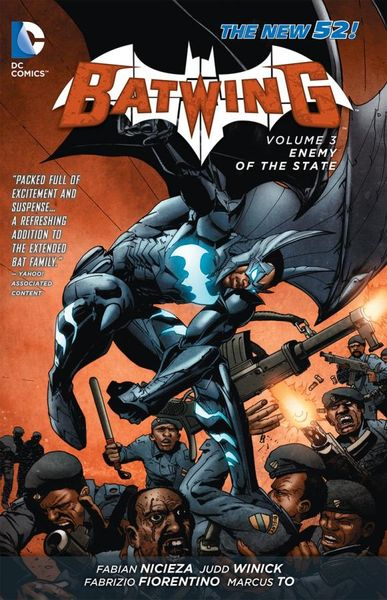 Batwing Vol. 3: Enemy of the State (The New 52) last templar vol 3 the the sunken church