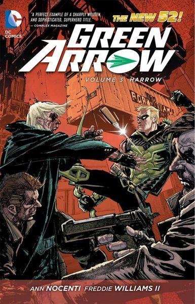 Green Arrow Vol. 3: Harrow (The New 52) green arrow vol 2 triple threat the new 52