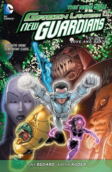 Green Lantern: New Guardians Vol. 3: Love & Death (The New 52) death s head vol 2