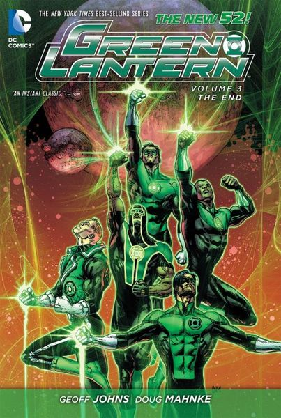 Green Lantern Vol. 3: The End (The New 52) the punisher vol 3