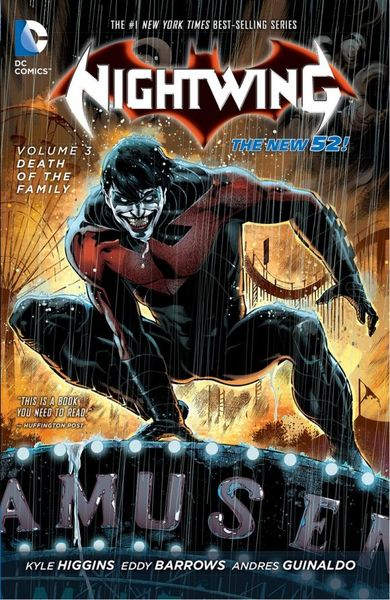 Nightwing Vol. 3: Death of the Family (The New 52) death s head vol 2