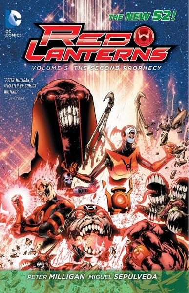 Red Lanterns: Volume 3: The Second Prophecy uncanny avengers unity volume 3 civil war ii