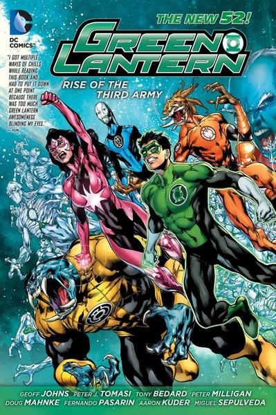 Green Lantern: Rise of the Third Army (The New 52) green lantern the wrath of the first lantern