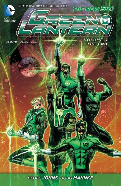 Green Lantern Vol. 3: The End (The New 52) keith giffen threshold vol 1 the hunted the new 52
