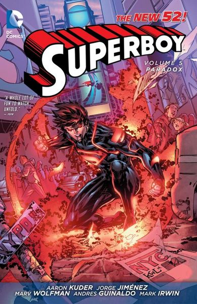 Superboy Vol. 5: Paradox (The New 52) the small island paradox
