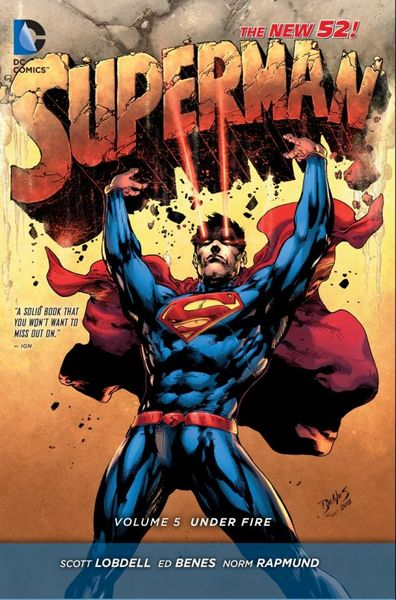 Superman Vol. 5: Under Fire (The New 52) tom clancy under fire
