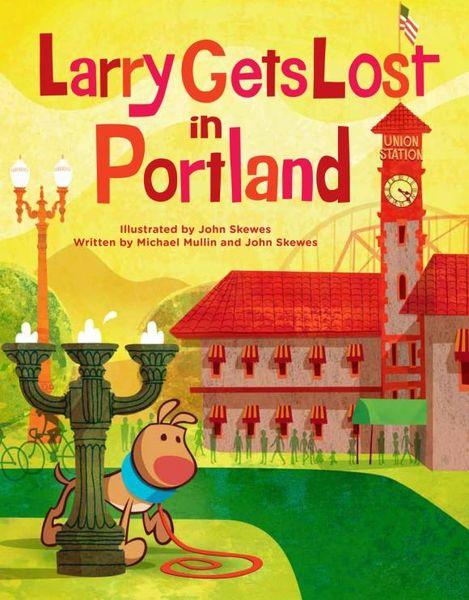 Larry Gets Lost in Portland рюкзак portland