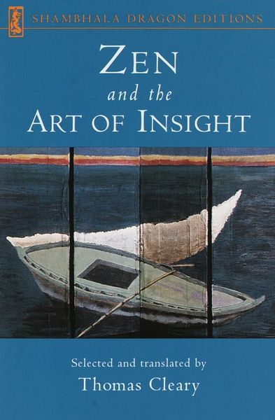 Zen and the Art of Insight the art of hunting