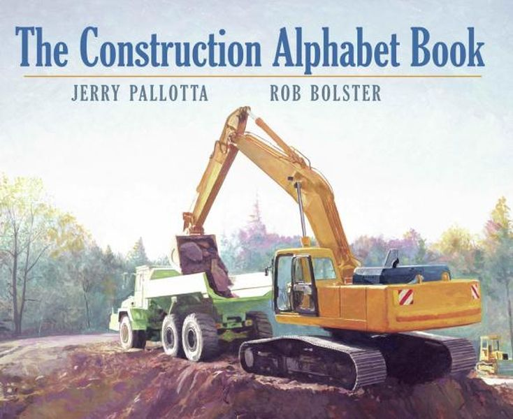 The Construction Alphabet Book jerry pallotta the flower alphabet book