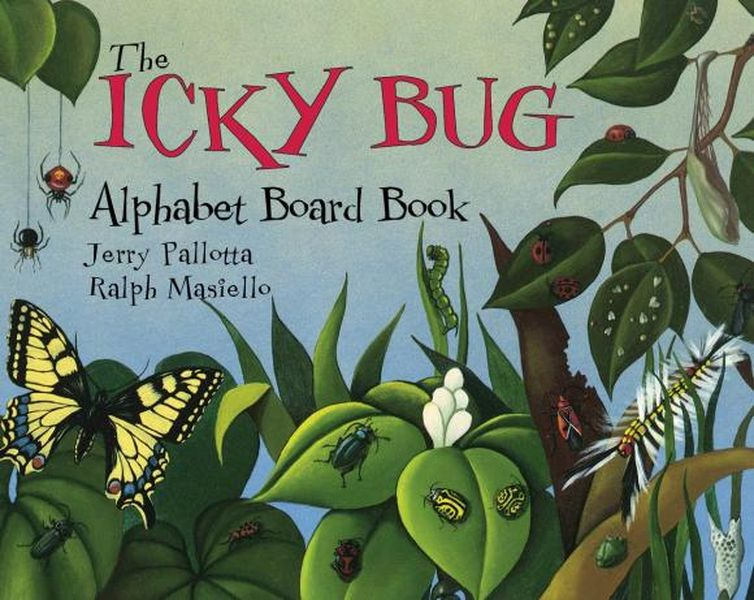 цена на The Icky Bug Alphabet Board Book