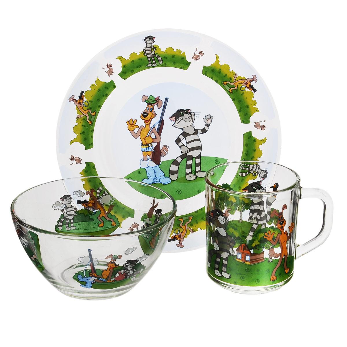 Набор детской посуды Союзмультфильм