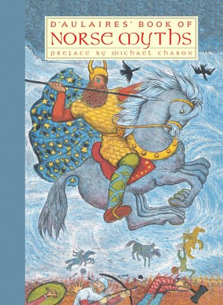 D'Aulaires' Book of Norse Myths illustrated norse myths