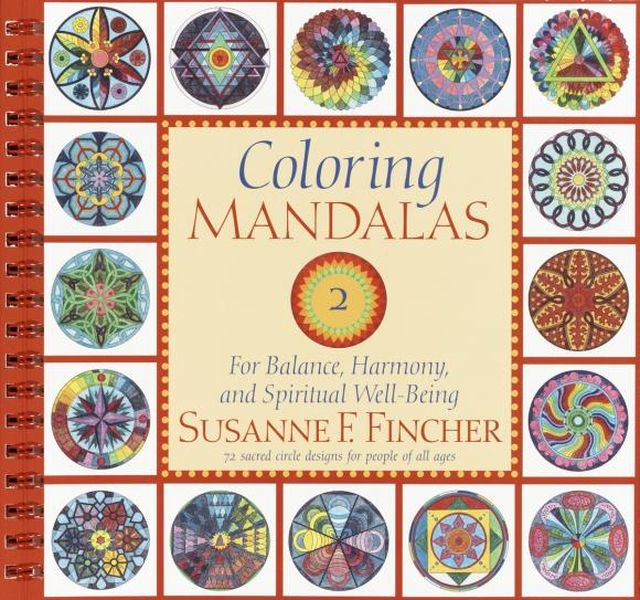 Coloring Mandalas 2: For Balance, Harmony, and Spiritual Well-Being coloring of trees