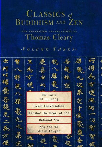 Classics of Buddhism and Zen, Volume 3 penguin christmas classics 6 volume boxed set