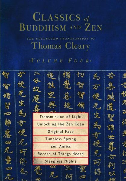 Classics of Buddhism and Zen, Volume 4 penguin christmas classics 6 volume boxed set
