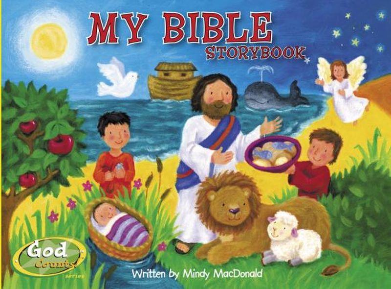 My Bible Storybook my fairies sticker storybook