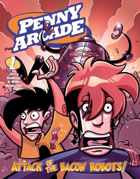 Penny Arcade Volume 1: Attack of the Bacon Robots! robots in disguise 1 step changers