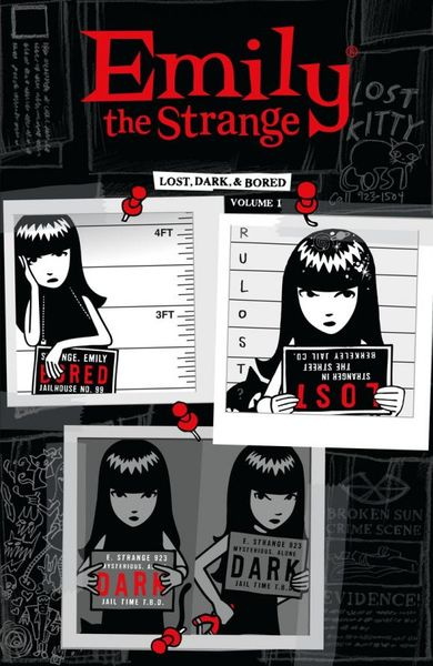 Emily the Strange Volume 1: Lost, Dark, and Bored emily d11a comfort 12c3