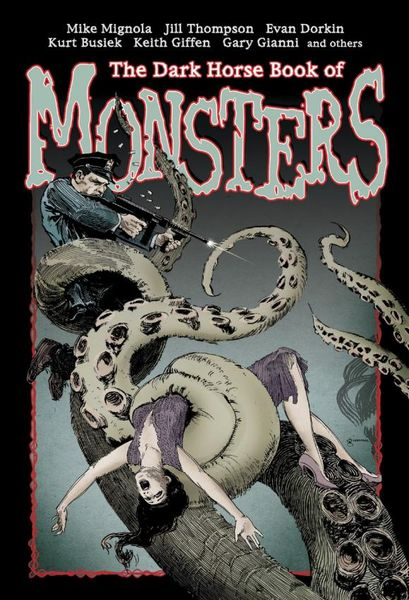 The Dark Horse Book of Monsters romping monsters stomping monsters