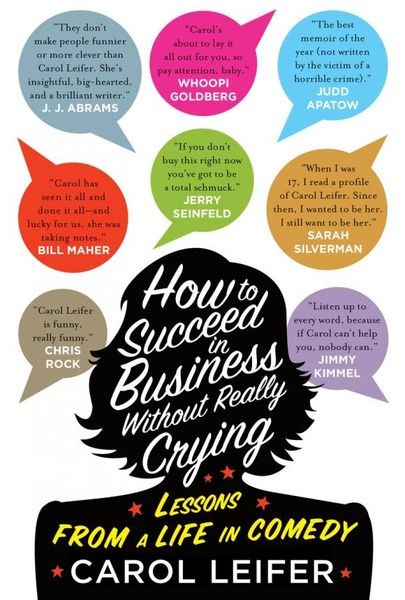 How to Succeed in Business Without Really Crying i must succeed