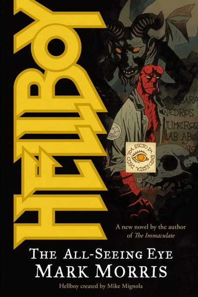 Hellboy: All-Seeing Eye hellboy the art of hellboy