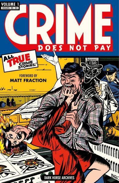 Crime Does Not Pay Archives Volume 1 nexus archives volume 10