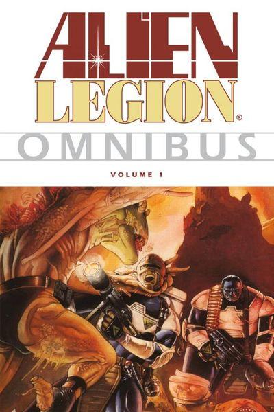 Alien Legion Omnibus Volume 1 nexus omnibus volume 4