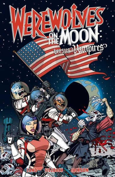 Werewolves on the Moon: Versus Vampires shadows on the moon