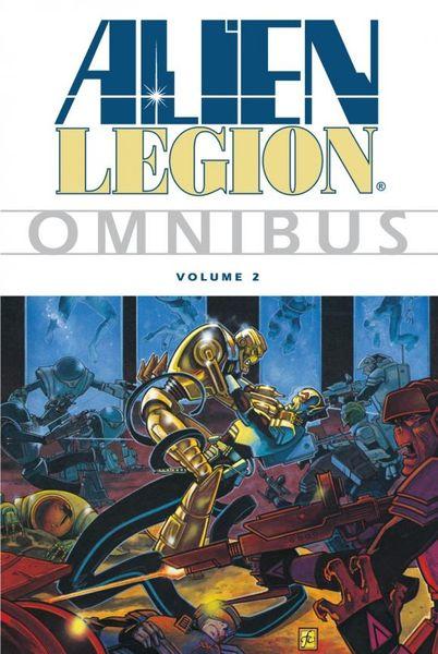 Alien Legion Omnibus Volume 2 green lantern by geoff johns omnibus volume 2