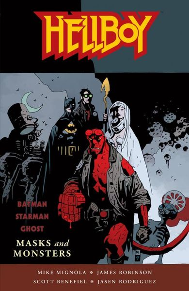 Hellboy: Masks and Monsters romping monsters stomping monsters