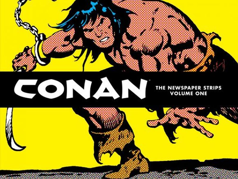 Conan: The Newspaper Strips Volume 1 conan omnibus volume 1 birth of the legend