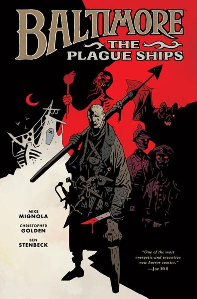 Baltimore Volume 1: The Plague Ships b p r d plague of frogs volume 2