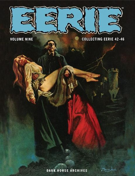 Eerie Archives Volume 9 the ec archives two fisted tales volume 3