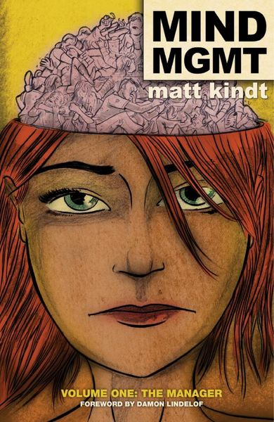 MIND MGMT Volume 1: The Manager kindt matt mind mgmt vol 1 the manager