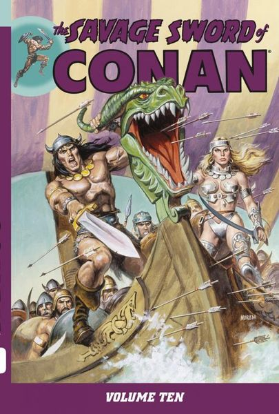 Savage Sword of Conan Volume 10 conan omnibus volume 1 birth of the legend