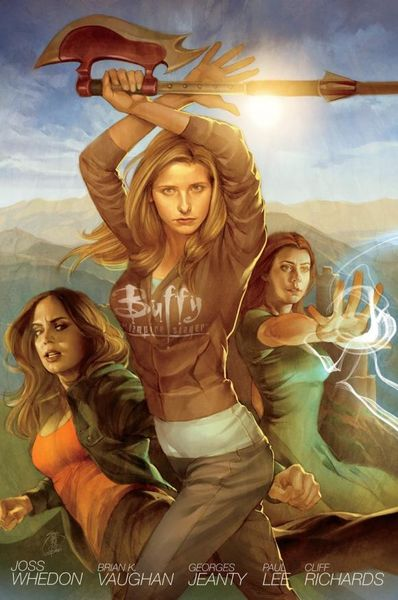 Buffy the Vampire Slayer Season 8 Library Edition Volume 1 the invisible library