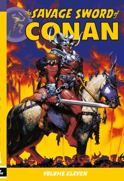 Savage Sword of Conan Volume 11 conan omnibus volume 1 birth of the legend