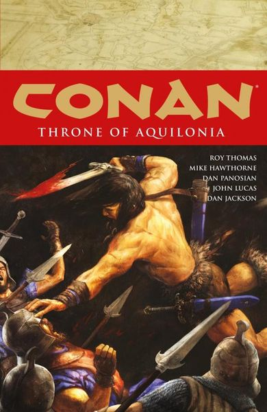Conan Volume 12: Throne of Aquilonia conan omnibus volume 1 birth of the legend