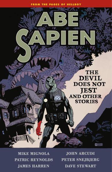 Abe Sapien Volume 2: The Devil Does Not Jest abe sapien volume 2 the devil does not jest