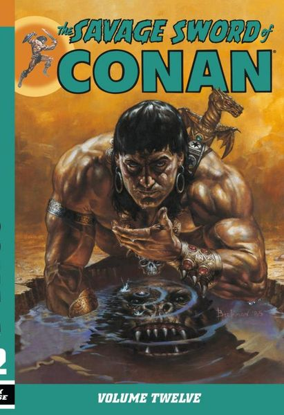 Savage Sword of Conan Volume 12 conan omnibus volume 1 birth of the legend