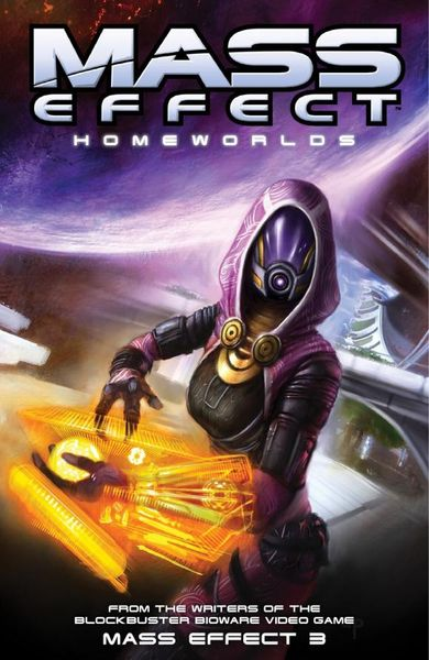 Mass Effect Volume 4: Homeworlds mass effect volume 2 evolution
