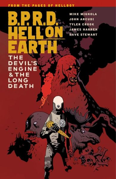 B.P.R.D. Hell on Earth Volume 4: The Devil's Engine & The Long Death the long war long earth 2