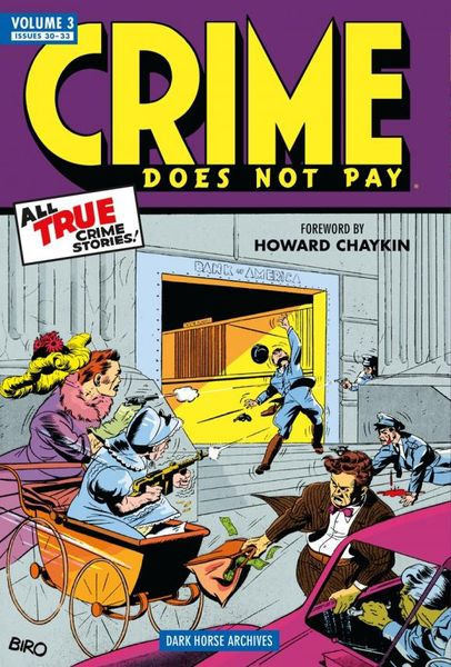 Crime Does Not Pay Archives Volume 3 nexus archives volume 10