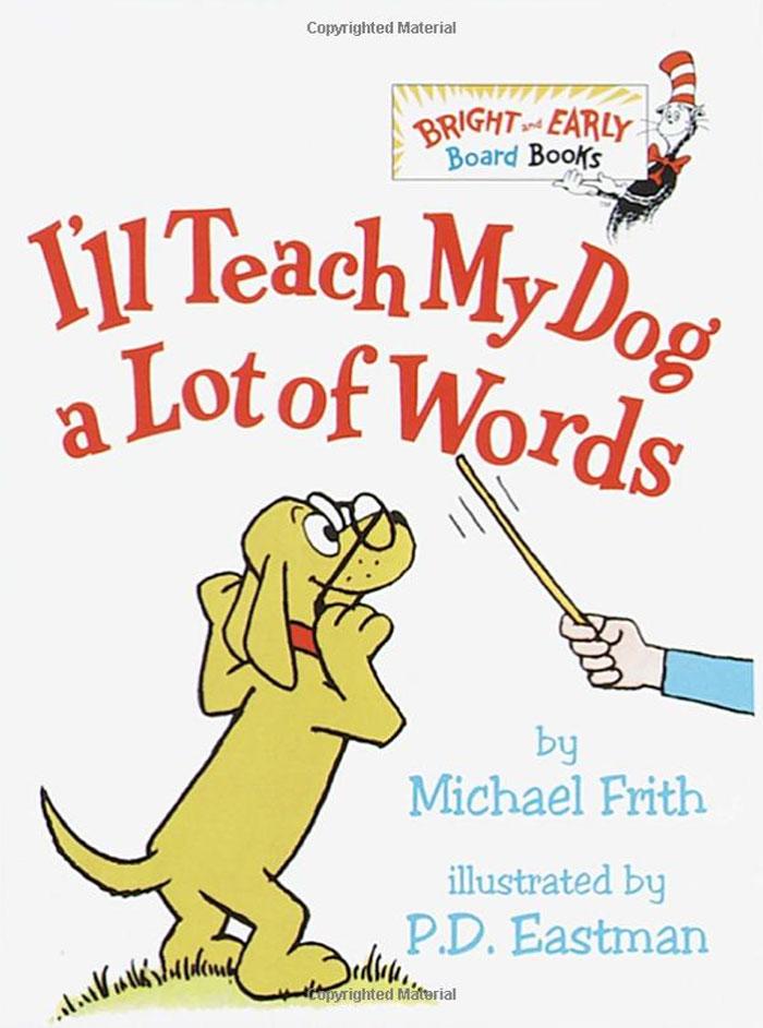 I'll Teach My Dog a Lot of Words kiss my face 88ml