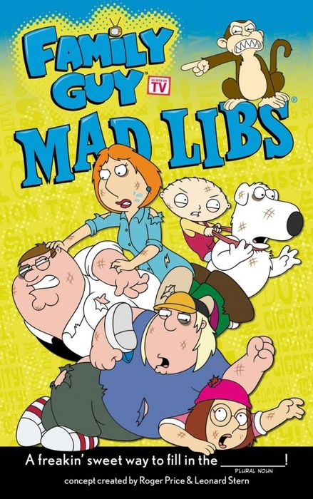 Family Guy Mad Libs the amazing world of gumball mad libs
