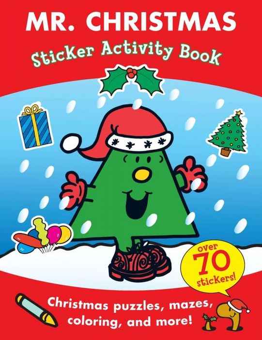 Mr. Christmas Sticker Activity Book space activity book