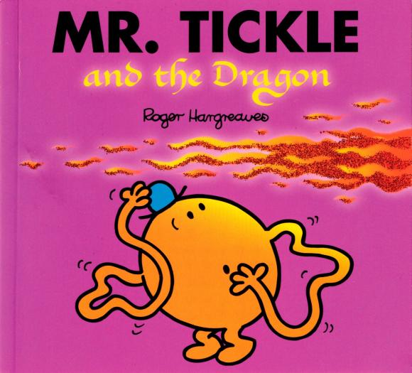 Mr. Tickle and the Dragon tickle monster